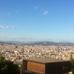 Photo taken at Castell de Montjuïc by Caroline B. on 9/13/2012