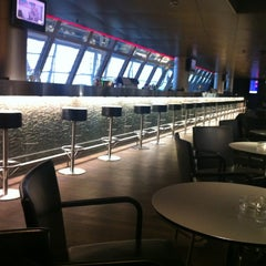 Photo taken at SWISS Business Class Lounge by Marcos F. on 11/26/2011