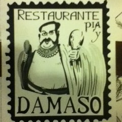 Photo taken at Restaurante Pia y Damaso by Ryan C. on 12/21/2011