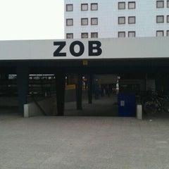 Photo taken at ZOB am Funkturm by Alexander D. on 1/27/2012