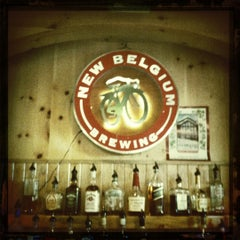 Photo taken at New Belgium Brewing Hub by Scott C. on 12/26/2011