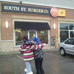 Photo taken at South St. Burger Co. by Rob T. on 12/30/2011