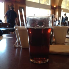 Photo taken at Red Brick Station Restaurant & Brew Pub by Mike S. on 2/20/2012