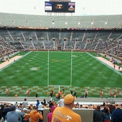 Photo taken at Neyland Stadium by Sarah T. on 4/16/2011