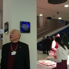 Photo taken at World Economic Forum 2012 (Davos Congress Center, WEF) by Justine C. on 1/24/2012