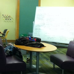 Photo taken at Gleason Library by Katie C. on 10/26/2011