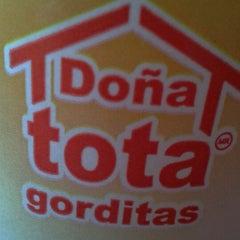Photo taken at Gorditas Doña Tota by Itzel M. on 6/25/2012