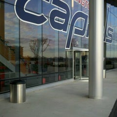 Photo taken at Kettler Capitals Iceplex by Erik V. on 12/19/2011