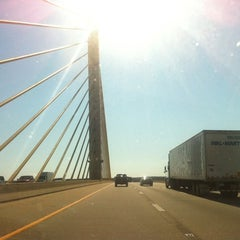 Photo taken at St. Georges Bridge by Jamie A. on 10/16/2011