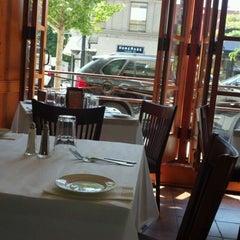 Photo taken at Basil Leaf Cafe by Dan F. on 5/25/2012
