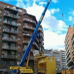 Photo taken at Las Putas Obras De Meridiana by MarcosGF on 2/14/2012