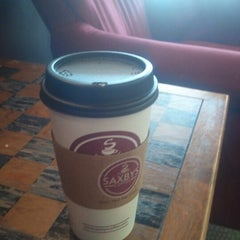 Photo taken at Saxbys Coffee by Burton C. on 7/23/2012