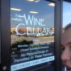 Photo taken at Tulsa Hills Wine Cellar by Raul D. on 6/4/2012