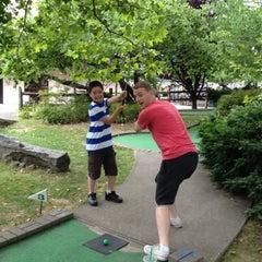 Photo taken at Randalls Island Golf Center by Benjamin S. on 7/7/2012