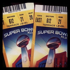 Photo taken at Super Bowl Village by Brian B. on 2/5/2012