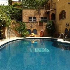Photo taken at La Grava Hotel by Pablo J. on 7/15/2012