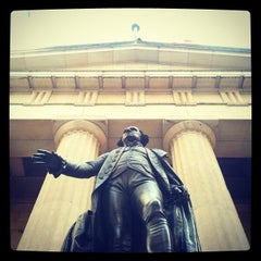 Photo taken at Federal Hall National Memorial by Charis T. on 3/27/2012