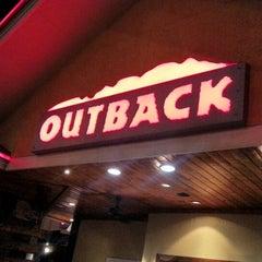 Photo taken at Outback Steakhouse by Rodrigo T. on 9/3/2012