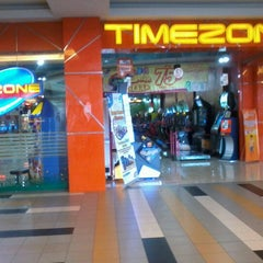Photo taken at Timezone by andreanto p. on 9/6/2012
