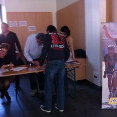 Photo taken at Office de Tourisme by Emmanuelle R. on 3/24/2012