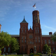 Photo taken at Smithsonian Institution Building (The Castle) by Allan K. on 4/29/2012