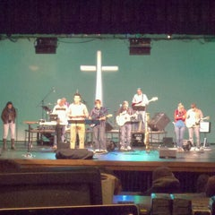 Photo taken at Calvary Church by Brian L. on 2/12/2012