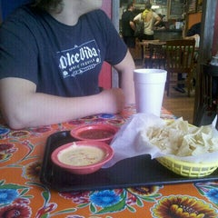 Photo taken at Paco's Tacos by Jade L. on 4/27/2012