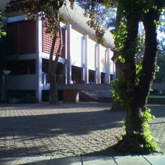 Photo taken at Masjid Salman ITB by Yolanda I. on 7/2/2012