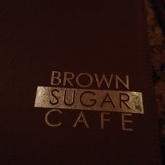Photo taken at Brown Sugar Café by Suzie C. on 4/14/2012