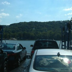 Photo taken at Anderson Ferry by Ian O. on 9/12/2012