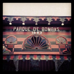 Photo taken at Parque De Bombas by Adolfo C. on 7/9/2012