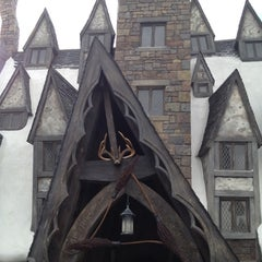 Photo taken at The Three Broomsticks by Spencer G. on 3/24/2012