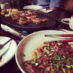 Photo taken at Hon Korean Restaurant by 'Andrew K. on 5/11/2014