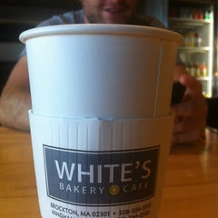 Photo taken at White's Pastry Shop by Joe N. on 10/21/2012