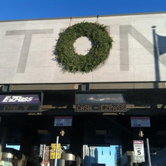 Photo taken at Holland Tunnel Toll Plaza by Brian K. on 12/28/2012