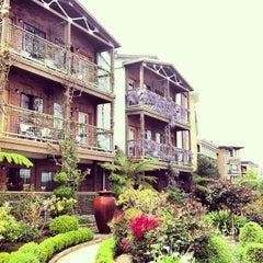 Photo taken at Napa River Inn by Dru B. on 3/30/2013