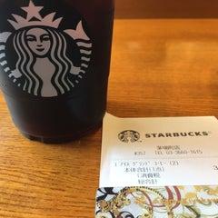 Photo taken at Starbucks Coffee 茅場町店 by Nao on 6/24/2015