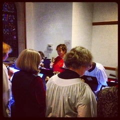 Photo taken at St. George Episcopal Church by Evan B. on 12/25/2012