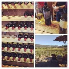 Photo taken at David Fulton Winery by Whitney L. on 9/27/2014