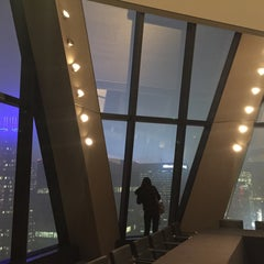 Photo taken at Hearst Tower by Jules M. on 12/17/2015