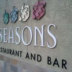 Photo taken at Seasons Restaurant by Alessandro O. on 5/15/2014