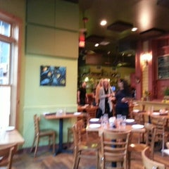 Photo taken at Sweet Grass Grill by Melinda B. on 10/1/2012