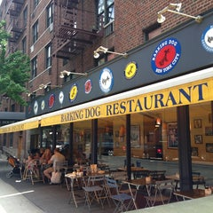 Photo taken at Barking Dog Luncheonette by NYC Brunch Babes on 6/29/2013