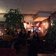 Photo taken at Le Dépanneur Café by Romain D. on 1/3/2015