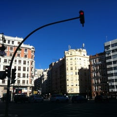 Photo taken at Plaça d'Espanya by Eduard T. on 1/5/2013