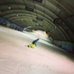 Photo taken at SnowWorld by Ruben v. on 12/31/2012