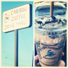 Photo taken at Caribou Coffee by Racheal J. on 10/8/2012
