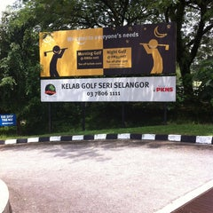 Photo taken at Seri Selangor Golf Club by Peter K. on 5/16/2013