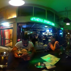 Photo taken at Athens Sports Bar by Constantinos A. on 11/3/2012