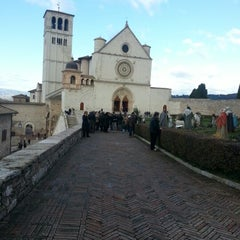 Photo taken at Basilica di San Francesco by Elisa M. on 12/8/2012